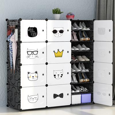 簡易防塵鞋架多層家用經濟型宿舍大容量省空間鞋柜收納古達放門口鞋架