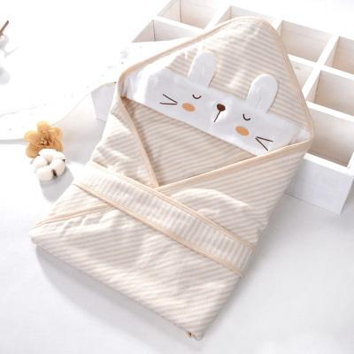 瑞拉貝祺新生兒包被嬰兒初生抱被外出夏季薄款純棉新生兒用品產房襁褓巾