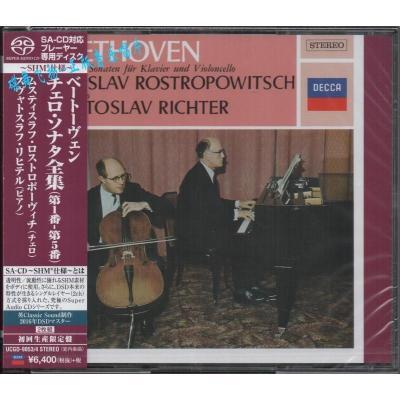UCGD-9053/4 贝多芬:大提琴奏鸣曲全集 Rostropovich 2SHM-SACD
