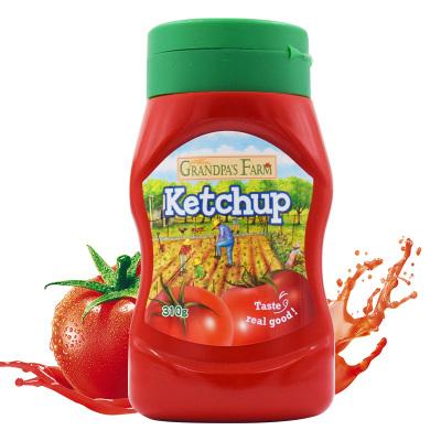 爺爺的農場 寶寶蘸拌面條零食調味品番茄沙司 兒童調味品番茄醬 310g