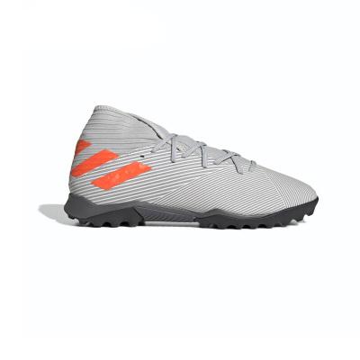 阿迪達斯Nemeziz 19.3新款男子比賽訓練防滑TF碎釘足球鞋 EF8291