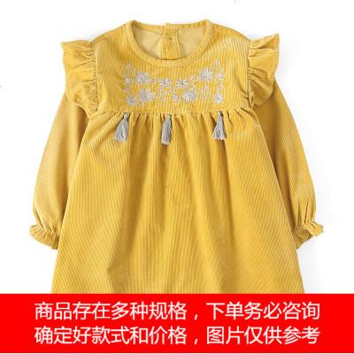 韩版加长款儿童罩衣男童女童画画衣宝宝反穿衣饭衣围裙