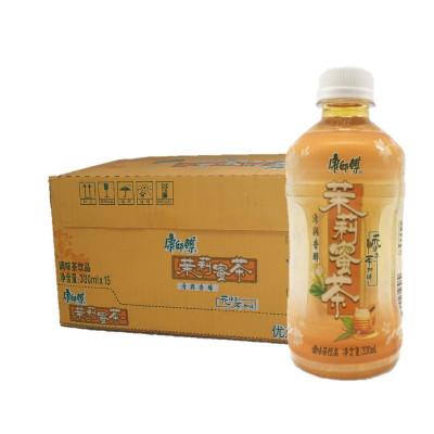 康师傅 茉莉蜜茶330ml*15入整瓶箱装 茶饮品饮料(新老包装随机发)