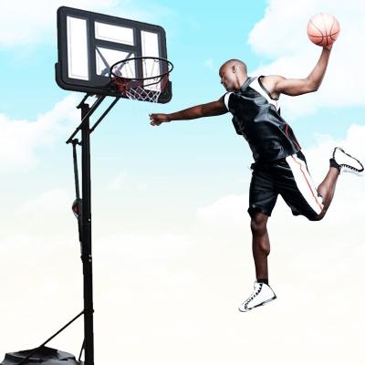 MOREKO美科戶外移動籃球架 成人標準室內可升降液壓籃球架 027款籃球架加厚網