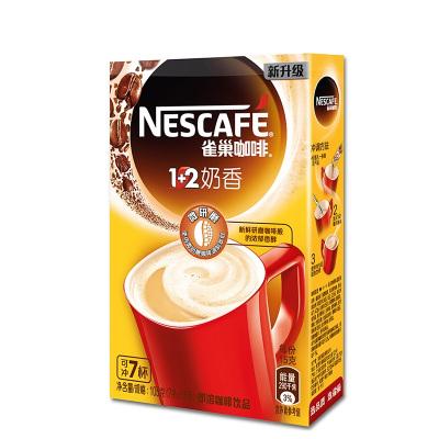 雀巢(Nestle)1+2奶香咖啡7条105g 速溶咖啡