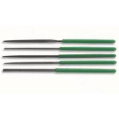 宝工 Pro'sKit 8PK-605A 5PCS精密锉刀组(绿柄170mm)