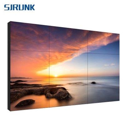 視疆液晶拼接屏安防監控大屏46/49/55寸LED高清視頻會議顯示器BOE顯示屏55英寸0.99mmSJ100-55B3