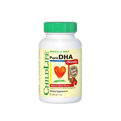 童年時光嬰幼兒DHA魚皮軟膠囊 90粒裝 寶寶食用 美國進口