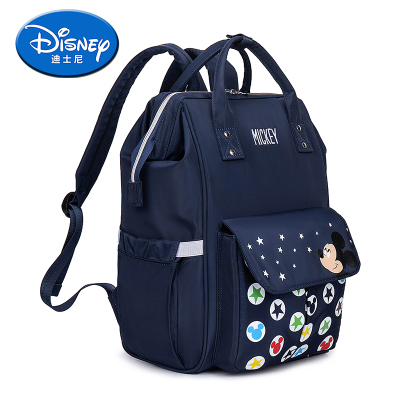 迪士尼 2020新款單雙肩多功能媽咪包時尚大容量母嬰待產包尿片包