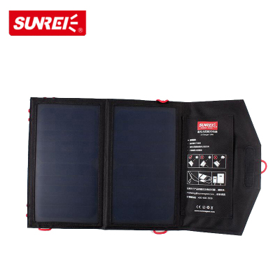 SUNREI山力士 太陽能充電板便攜折疊充電器戶外移動電源 10W