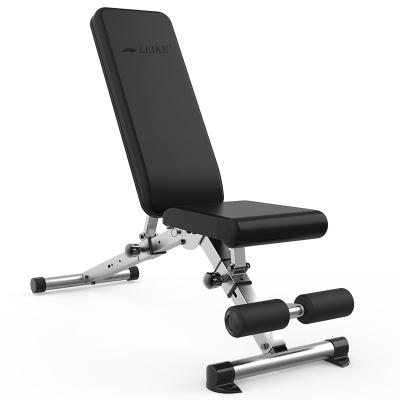雷克健身椅哑铃凳家用多功能仰卧起坐板腹肌健身器材可折叠通用仰卧板卧推凳 2018年