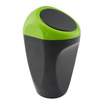 車載垃圾桶汽車內用車用垃圾桶創意可愛時尚車掛式多功能車裁用品 2111綠色