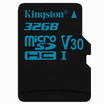 金士頓TF卡32G(讀90m寫45m) MicroSD卡存儲卡手機TF內存卡平板監控攝像頭通用行車記錄儀專用閃存卡