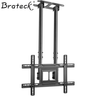 帮客材配 Brateck(37-80英寸)PLB-CE1046D 双杆电视机吊顶架 通用液晶电视壁挂支架 伸 1台/箱