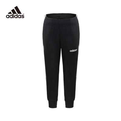 阿迪達斯Adidas運動褲童裝2020新款跑步訓練長褲休閑褲DV1794