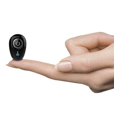 奧多金 多功能藍牙耳機迷你無線隱形運動跑步車載單耳超小耳麥 適用于蘋果華為OPPO小米VIVO等通用藍牙耳機 黑色
