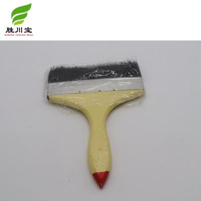 椰树牌专用油漆刷2寸毛刷 猪黑棕毛刷 油漆刷扫子