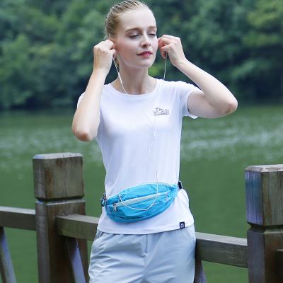 公狼 腰包新款时尚户外运动腰包跑步女多功能手机腰包男实用耐磨防水包骑行包 跑步包1792