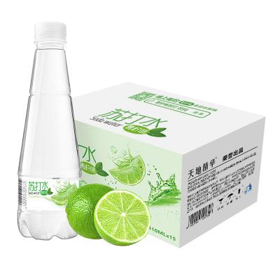 天地精華 青檸味無氣無糖蘇打水410ml*15瓶/箱 弱堿性果味飲料