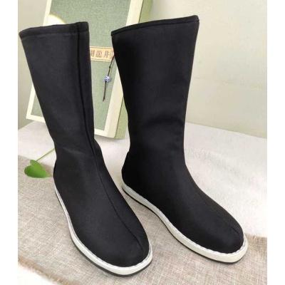 古裝靴子翹頭舞蹈cos漢服內增高男女中式皂靴弓鞋婚鞋官兵攝影靴