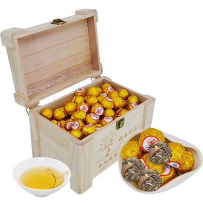醉享茶叶 白茶 福鼎白茶白牡丹茶球茶坨茶饼高山老白茶礼盒装2012年 750克木盒装