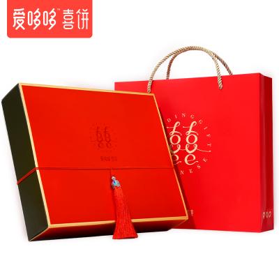 愛哆哆喜餅 5份裝 結婚喜糖禮盒裝成品歐式禮盒婚慶女伴娘伴手禮回禮禮物--國色C27