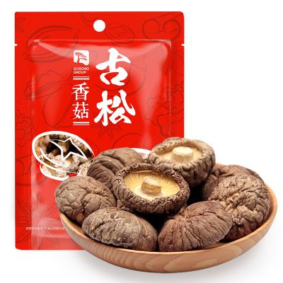古松 香菇100g 南北干货 菌菇 蘑菇食用菌 剪脚香菇 煲汤食材 二十年老品牌