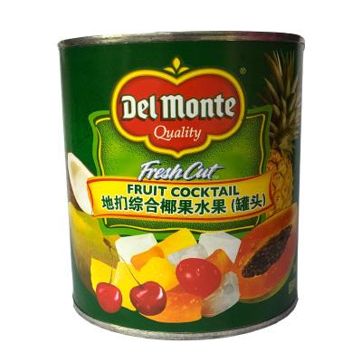 菲律賓進口地捫牌綜合椰果水果罐頭850g 什錦水果蛋糕披薩烘焙水果原料即食水果罐頭