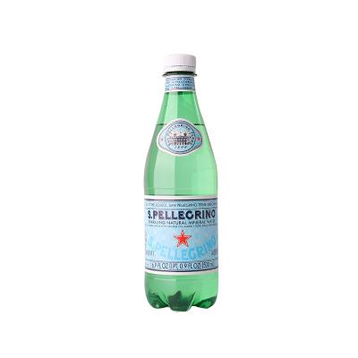 圣培露充氣天然礦泉水(塑料瓶)500ml 單瓶
