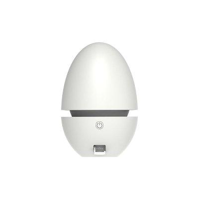 根元舌尖衛糖果蛋乳白色(USB充電)冰箱專用凈化器除臭空氣殺菌去除異味保鮮 低臭氧性消毒殺菌保鮮冰箱凈化