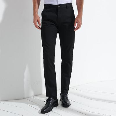 諾帝卡/NAUTICA TAILORED新品男士商務修身西褲簡約百搭長褲上班