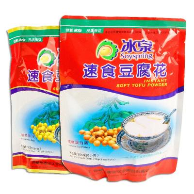 冰泉速食豆腐花256g小包裝甜味豆奶粉豆腐腦方便速溶早餐沖飲