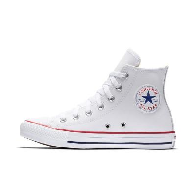 【直營】CONVERSE匡威Chuck Taylor All Star牛皮高幫男女通用帆布鞋休閑鞋運動鞋