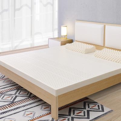 舒娜泰国天然乳胶床垫7.5CM榻榻米成人家用橡胶1.5米床男女通用软垫子可定制