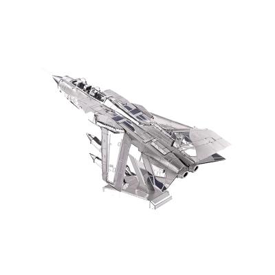 拼酷 歼20战斗机. 3D立体拼图 银