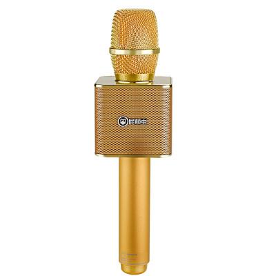 屁颠虫(Hifier) X16 无线蓝牙麦克风智能AI全民K歌音响话筒一体手机电脑通用 升级AI版 金色 3.5耳机口