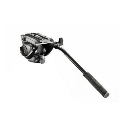 曼富圖(MANFROTTO) MVH500AH 500液壓攝影攝像兩用云臺-3/8''螺口平底 鋁合金 黑色