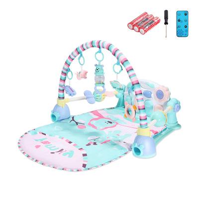 貝恩施嬰兒腳踏琴鋼琴健身架器新生兒寶寶音樂兒童玩具0-1歲3個月 Family貝尼獅子