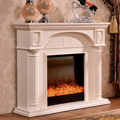 帝轩名典 1.2米/1.5米欧式壁炉架 实木美式电壁炉 装饰取暖壁炉架