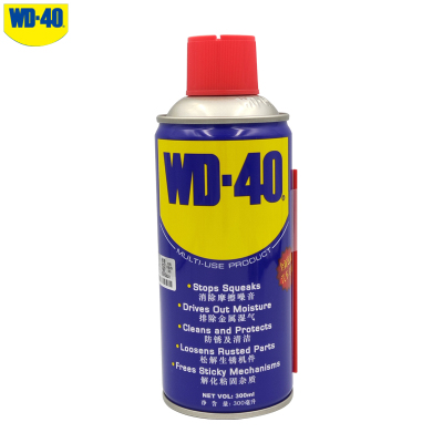 WD-40多功能強力除濕300ml 除銹劑 防銹潤滑油 除膠噴劑WD40螺絲松動劑自行車摩托車鏈條油 機械門鎖潤滑油