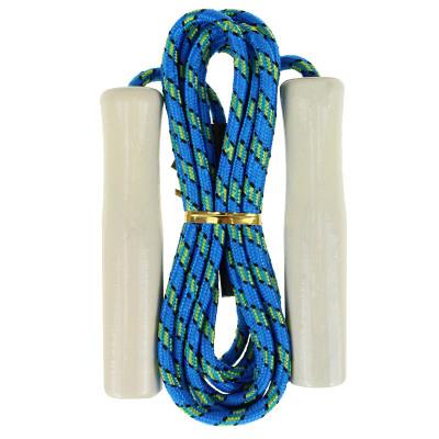 靚健跳繩 木柄 棉膠繩2-3m 中考考試學生專用跳繩