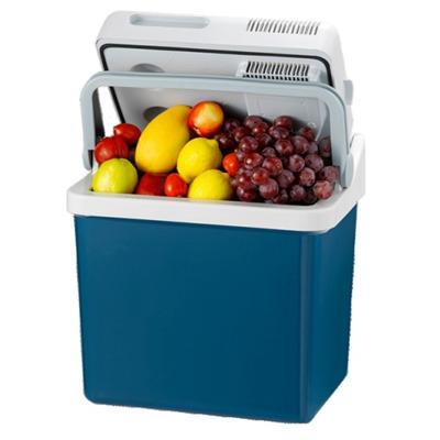 美固车载冰箱P24汽车移动冰箱便携式迷你小冰箱宿舍办公室小型冷藏箱【蓝色款】