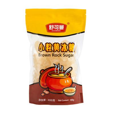 舒可曼小粒黄冰糖400克/袋装 无漂白 老冰糖 调味品 舒可曼(SUGARMAN)出品 国产食品