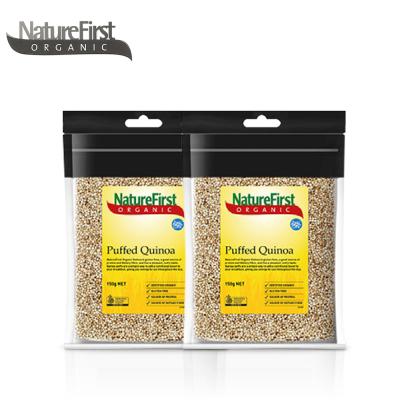澳洲进口 NatureFirst ORGANIC 有机袋装膨化藜麦 杂粮 80g*2包