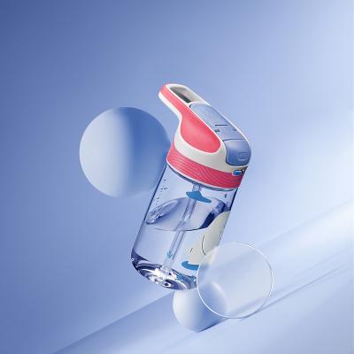 babycare兒童水杯直飲杯運動鴨嘴杯防摔寶寶外出攜帶喝水吸管杯子240ml-里瑟米