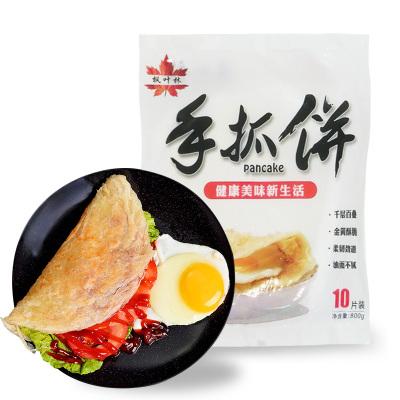 【精包裝】原味手抓餅30片*80克 臺灣風味手撕餅早餐手爪餅