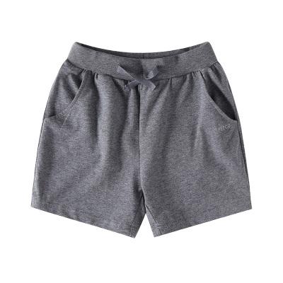 小豬班納童裝兒童短褲休閑2020春夏新款男童女童褲子彈力中大童