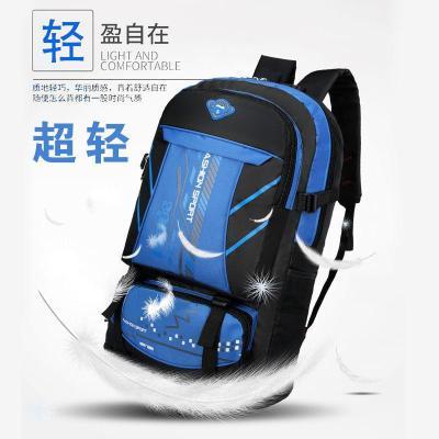 65升大容量双肩包运动户外旅行背包男女登山包行李包 莎丞