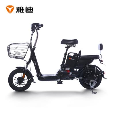 雅迪電動車新款電動自行車 輕馳(小王子鋰電版) 48V