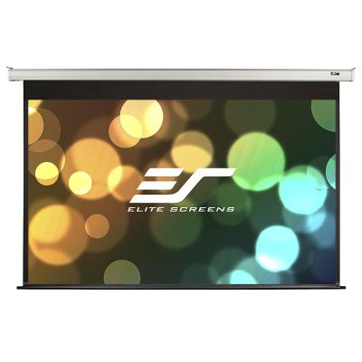 億立(Elite Screens)120英寸16:9玻纖電動幕布 投影幕布 投影儀幕布 幕布(JSP120HT-E12)